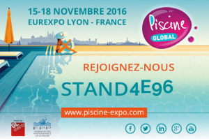 Extrabat Piscine vous donne RDV au salon Piscine Global à Lyon